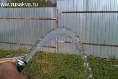 Вода из прокаченного абиссинского колодца